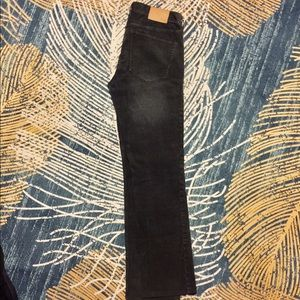 Madewell Pants - Madewell rail straight cords gray